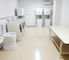 2階・3階洗濯室