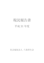 H31年度現況報告書